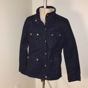Navy Blue Jcrew Field Jacket PM